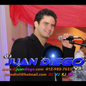 Gallitzin Wedding DJ | DJ Juan Diego Inc