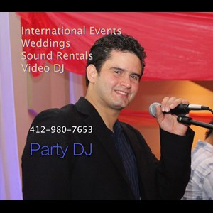 Pittsburgh Latin DJ | DJ Juan Diego Inc