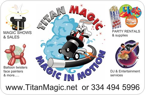 Titan Magic Shows & Sales: Variety Entertainment - Magician - Dothan, AL