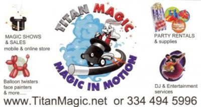 Titan Magic Shows & Sales: Variety Entertainment | Dothan, AL | Magician | Photo #10