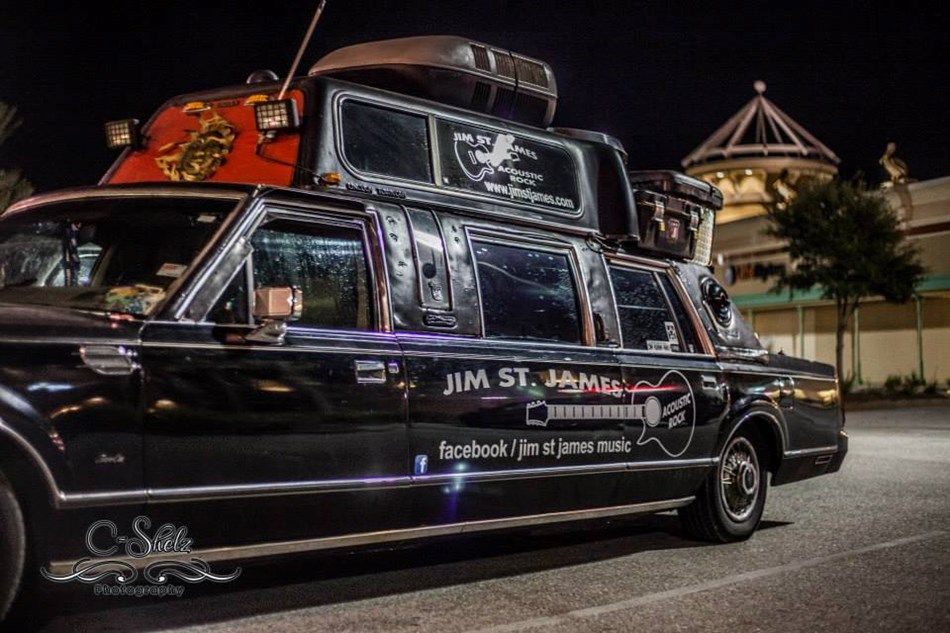 Immaculate Contraption tour limo!