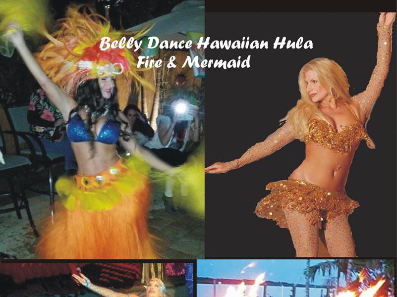 Belly Dance Hawaiian Hula Fire & Mermaid - Hawaiian Dancer - Saint Petersburg, FL