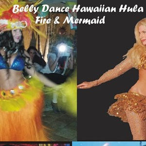 Saint Petersburg, FL Hawaiian Dancer | Belly Dance Hawaiian Hula Fire & Mermaid