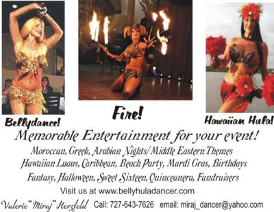 Belly Dance Hawaiian Hula Fire & Mermaid | Redington Shores, FL | Belly Dancer | Photo #1
