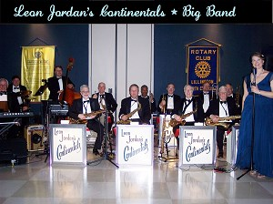 Roanoke Rapids 40s Band | Leon Jordan's Continentals