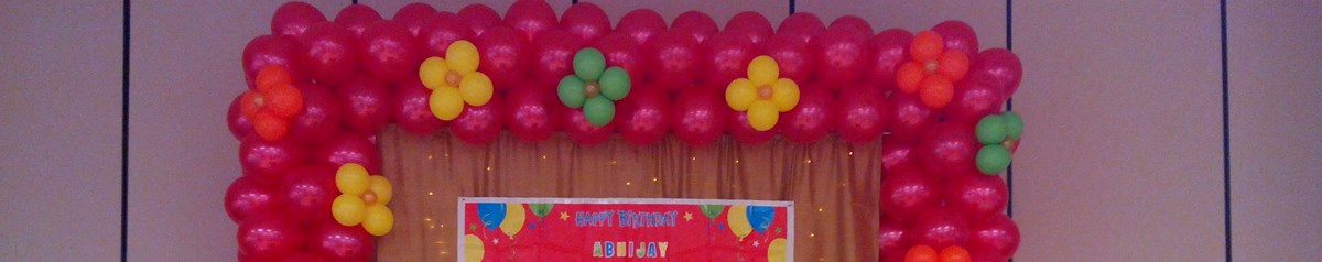 Balloon Decor & Twisting by Emad The Twister