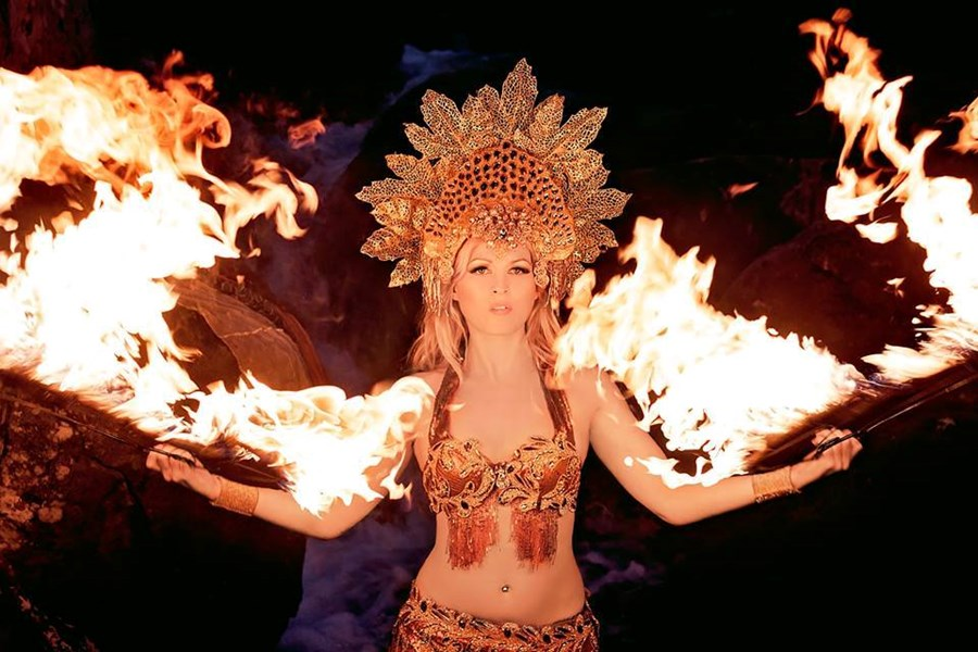 Fire Goddess - Fire Dancer - New Milford, CT