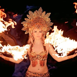 Burlington Egyptian Dancer | Fire Goddess