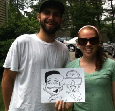 Alejandro Yegros Caricatures | Watertown, MA | Caricaturist | Photo #4