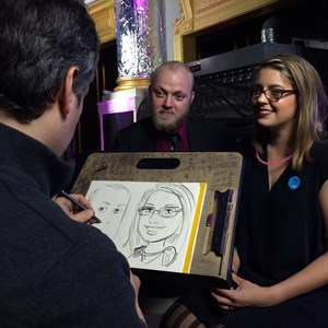 Johnston City Caricaturist | Dan Wild, Caricaturist