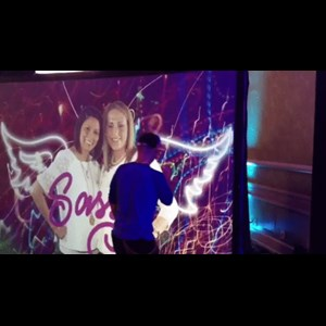 Martinsville Photo Booth | Air Graffiti - Interactive Digital Graffiti Wall