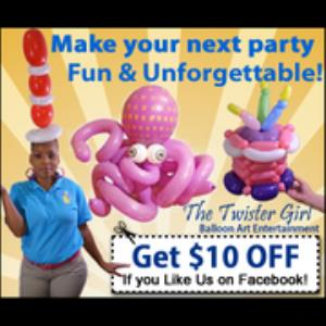Westfield Center Balloon Twister | The Twister Girl
