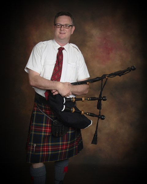 Jim Ryan  - Bagpiper - Sterling, VA
