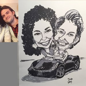 Caricatures by Duff