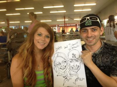 Caricatures by Duff | Cincinnati, OH | Caricaturist | Photo #13