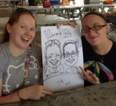 Caricatures by Duff | Cincinnati, OH | Caricaturist | Photo #14