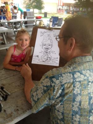 Caricatures by Duff | Cincinnati, OH | Caricaturist | Photo #3