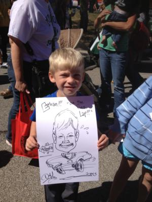 Caricatures by Duff | Cincinnati, OH | Caricaturist | Photo #23