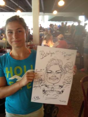 Caricatures by Duff | Cincinnati, OH | Caricaturist | Photo #15