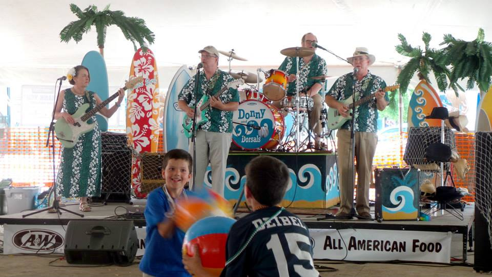 Donny and the Dorsals - Beach Band - Williamston, MI