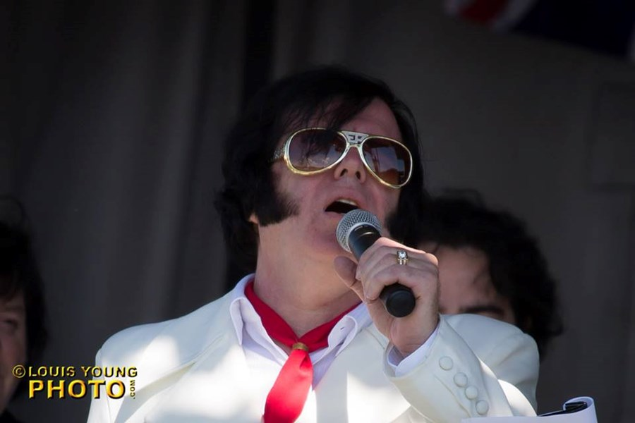 Keith Lewis as Elvis