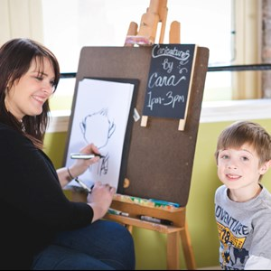 Lake Village Caricaturist | Cara Dunning Art