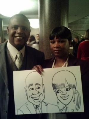 Caricatures by Joe Thibodeau | Henrico, VA | Caricaturist | Photo #19