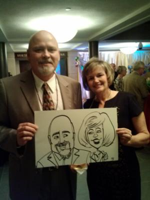 Caricatures by Joe Thibodeau | Henrico, VA | Caricaturist | Photo #8