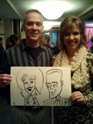 Caricatures by Joe Thibodeau | Henrico, VA | Caricaturist | Photo #9