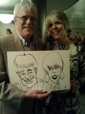 Caricatures by Joe Thibodeau | Henrico, VA | Caricaturist | Photo #6