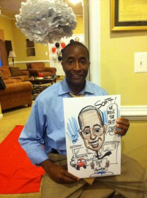 Caricatures by Joe Thibodeau | Henrico, VA | Caricaturist | Photo #12