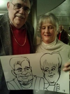 Caricatures by Joe Thibodeau | Henrico, VA | Caricaturist | Photo #18
