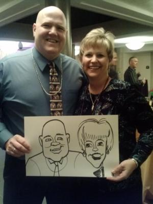 Caricatures by Joe Thibodeau | Henrico, VA | Caricaturist | Photo #7