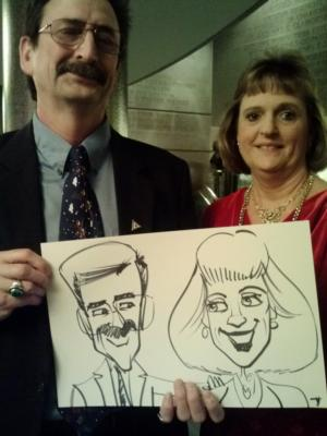 Caricatures by Joe Thibodeau | Henrico, VA | Caricaturist | Photo #20