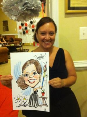 Caricatures by Joe Thibodeau | Henrico, VA | Caricaturist | Photo #13