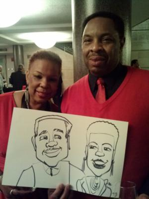 Caricatures by Joe Thibodeau | Henrico, VA | Caricaturist | Photo #17