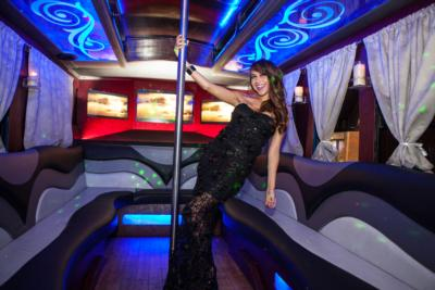 Trolley Party Bus | A New Era! | Chatsworth, CA | Party Bus | Photo #10