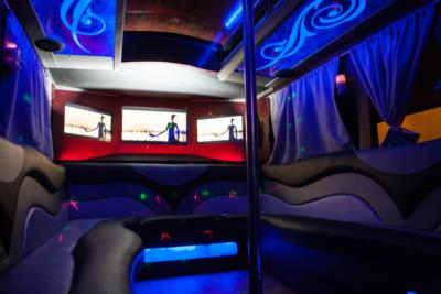 Trolley Party Bus | A New Era! | Chatsworth, CA | Party Bus | Photo #12