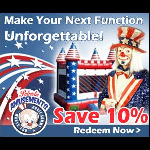 South Carolina Party Tent Rentals | Patriotic Amusements-Inflatable Party Rentals