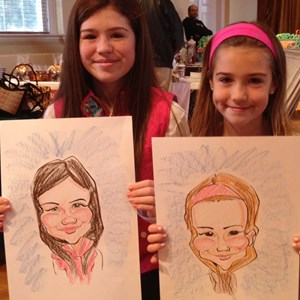 Fort Washington Caricaturist | Matt Schmidt Caricatures