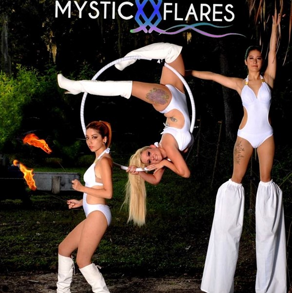 Mystic Flares: Multi-talented Group Performers - Fire Dancer - Orlando, FL