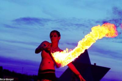 Tera Robots - Fire Performer & Hula Hooper | Orlando, FL | Fire Dancer | Photo #11