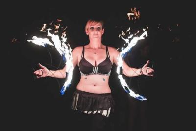 Tera Robots - Fire Performer & Hula Hooper | Orlando, FL | Fire Dancer | Photo #4