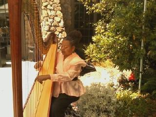 Harpist from the Hood | Oakland, CA | Harp | Photo #8