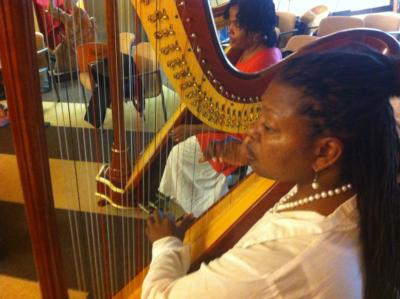 Harpist from the Hood | Oakland, CA | Harp | Photo #10