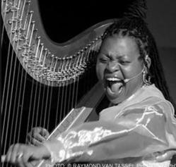 Harpist from the Hood | Oakland, CA | Harp | Photo #2