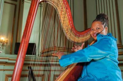 Harpist from the Hood | Oakland, CA | Harp | Photo #5