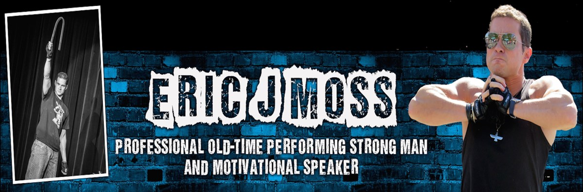Oldtime Performing Strongman Eric Moss