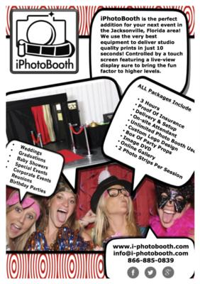 i-PhotoBooth | Jacksonville, FL | Photo Booth Rental | Photo #3