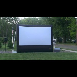 Movie Time Outdoor Movies - Movie Theme Party - Middlefield, CT